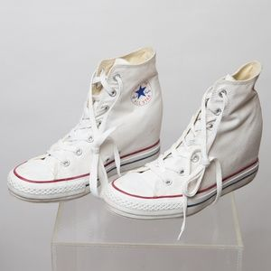 Converse High Top All Star Shoes Size 10